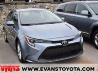 CARFAX One-Owner. 2021 Toyota Corolla LE Celestite FWD