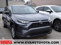 CARFAX One-Owner. 2021 Toyota RAV4 LE Magnetic Gray