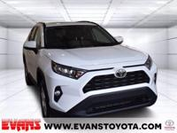 CARFAX One-Owner. 2021 Toyota RAV4 XLE WHITE AWD 2.5L