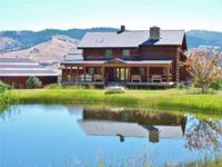 Well designed, built & maintained log home in beautiful