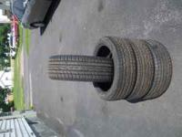 Falken Tires set of 4 like new. 205/45ZR17. MUST SEE