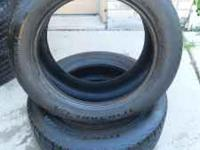 I have 2 BF Goodrich Traction TA 205/55/16 tires. They