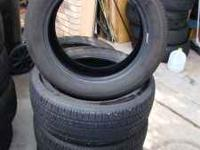 I have 4 Bridgestone Turanza EL 400 205/55/16 tires.