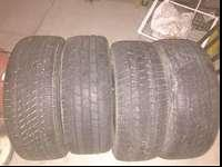I have 4 used tires for sale, two tires are Michelin