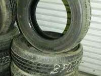 We have a set of four 205/65/16 Bridgestone Turanza