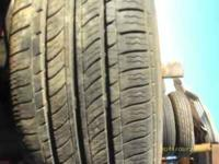 2 tires about 75% tread left, very good condition- $50,