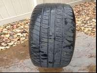 Single used tire for sale. Good tread remaining. Call