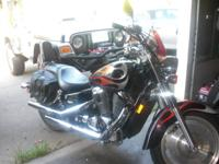 this is a 2005 honda shadow,it has 11369 orginal miless