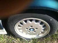 Tires are like new wheels greaat shape call Denver