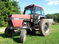 this is a very good tractor, approx. 115 horsepower.