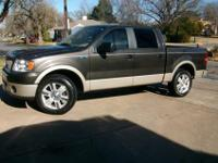 Clean Carfax 1 Owner 2007 F-150 4X2 Lariat. 69,600