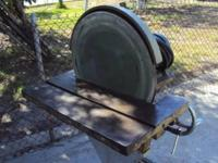"20"" Disk Sander In working condition Price is firm $900"