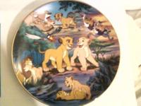 $20 FOR BOTH! 2 DISNEY Collectors Plates - Bradford