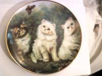 2 Kitten Collectors Plates From Danybury Mint &