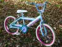 "I have a 20"" Girls's bike for sale. Very nice"