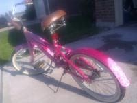 "Up for sale is a small 20"" girls B-Dazzled cruiser"