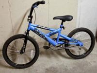The Huffy Crusader 20 inch Boy's BMX Bicycle is perfect