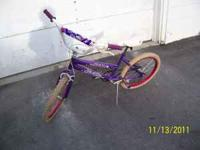 "Nice used girls 20"" bike. Any questions please email or"