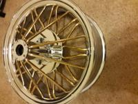 staight out the box 20 inch Gold Swangers never used