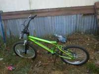 20 inch next chaos metallic lime green and black. Has