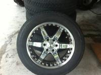 I have a set of 20 inch rims and tires that came off a