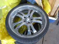 20 inch rims and tires off a 2007 mazda 6 5 lug . give