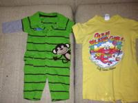 20 PC Boys 3/6 and 6/9 mos Carter's long sleeve monkey