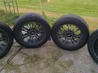 "20"" platinum rims great shape tires are still great. 6"