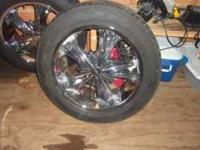 I have four 20in Milanni Rims on Toyo tires. The tires