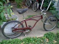 THIS IS A BOYS 20'' SCHWINN STINGRAY BICYCLE I THINK