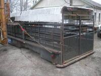 I purchased this livestock trailer several years ago