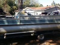 I have a 20ft pontoon boat it has the gavanized trailer