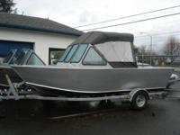 Brand brand-new 20ft Rogue Marine powered by a 60hp