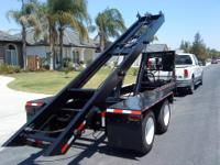 20ft roll off trailer can pick up, haul & dump 14ft,