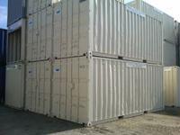 20ft used steel storage container. Heavy duty steel