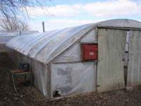 this is a commercial built 20 x 60 greenhouse, it is