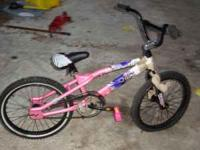 20in girls mongoose bike needs a tube in front this