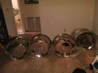 I'm selling my 20 inch Metal Ice Rims 5Lug