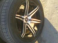 20 IN RIMS WHITE DIAMOND EDITION TIRE SIZE 275/55/20