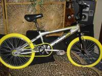 20inch Powerlite Ditch Freestyle new yellow tires and