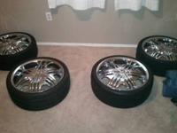 I have a set of 20inch stones woth tires. Rims are in