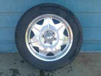 "im selling my 20"" rims and tires. they have been"