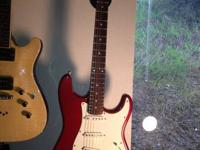 20th Anniversary Candy Apple Red SQUIER STRAT