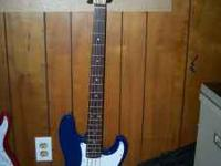 20th Anniversary edition of Fender Squier P-Bass
