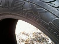 1 tire 2754520 in excelent condition. $80 CALL or text