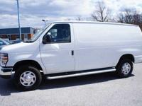 2012 Ford Econoline Cargo Van Commercial, Oxford White,