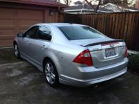 I am selling my 2011 Ford Fusion Sport. I have changed