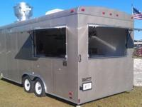 2011 Custom built concession trailer. Champagne Color.
