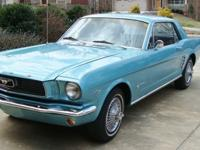1966 Mustang Coupe, Scott Drake Edition with V8 289