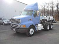 2004 Sterling AT 9500 tandem axle day cab tractor.